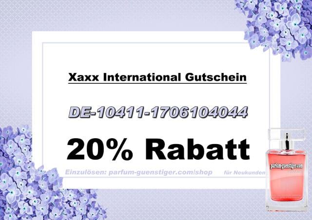 Xaxx Gutschein